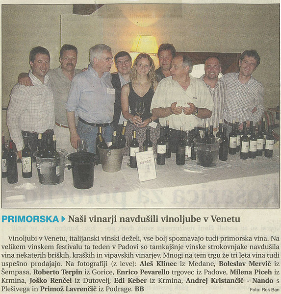 Our wine enraptured wine lovers from Veneto